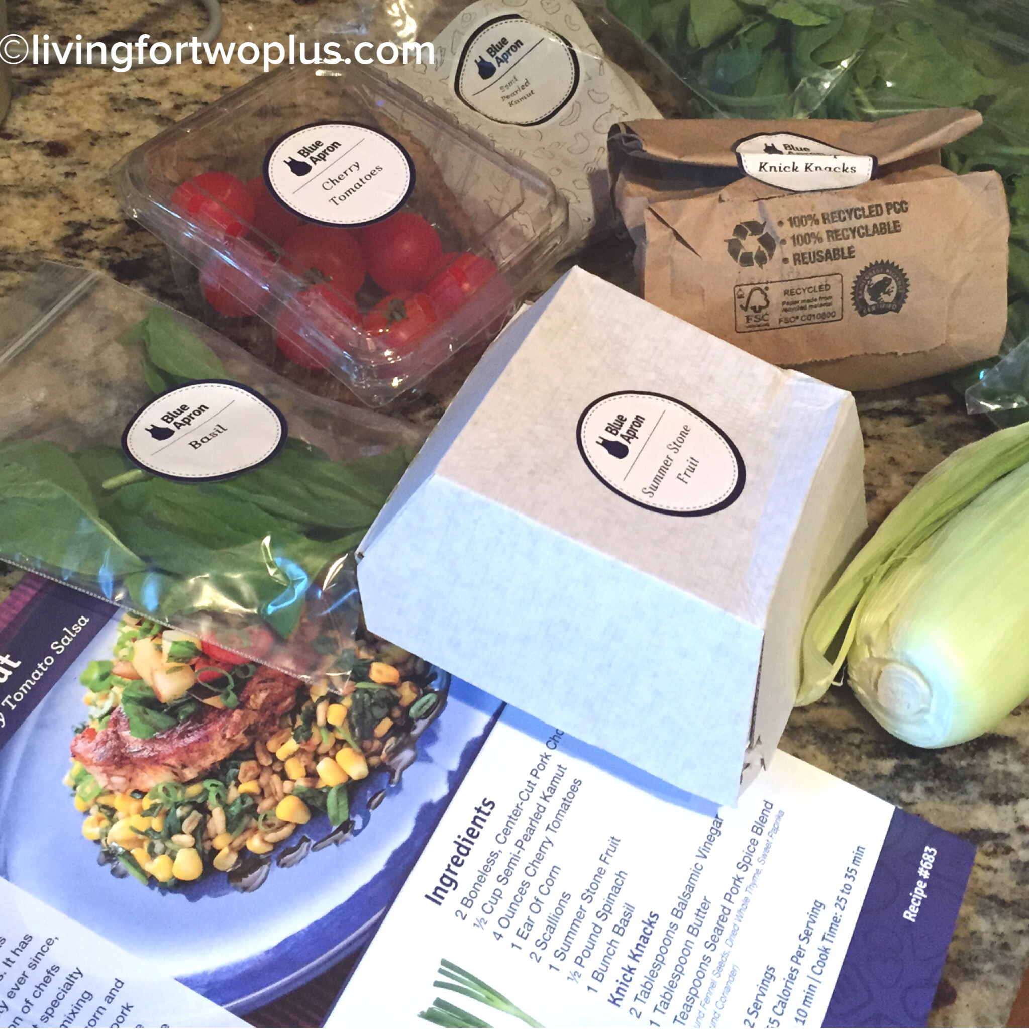 Blue apron promo code - Separate From The Meats Were Various Vegetables And Knick Knacks All Labeled And Perfectly Measured For Their Corresponding Recipes